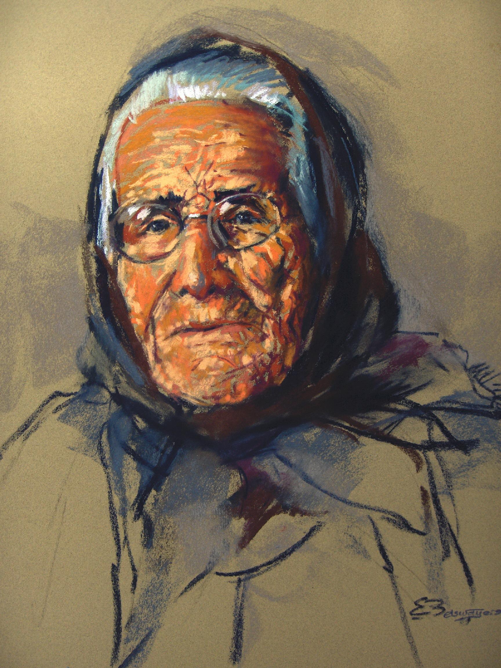 Portretschilderen, hier Dona Maria